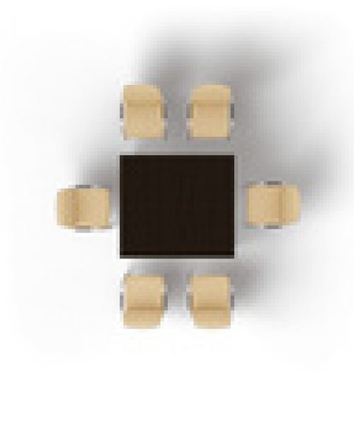 Прямоугольный модульный стол MMH1412
