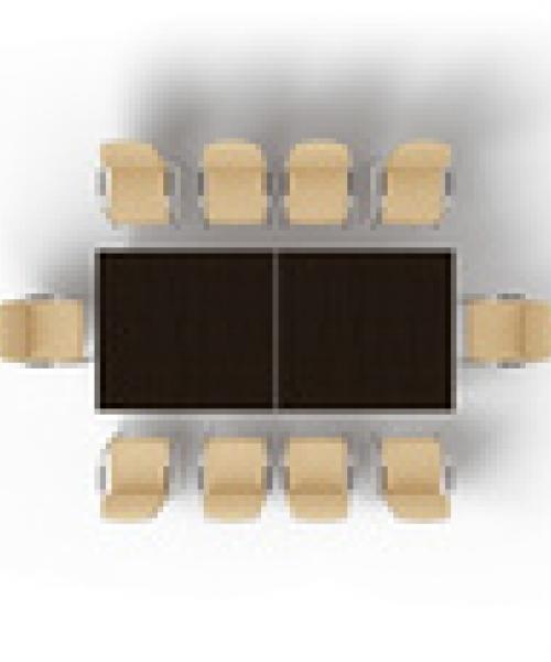 Прямоугольный модульный стол MMH2812